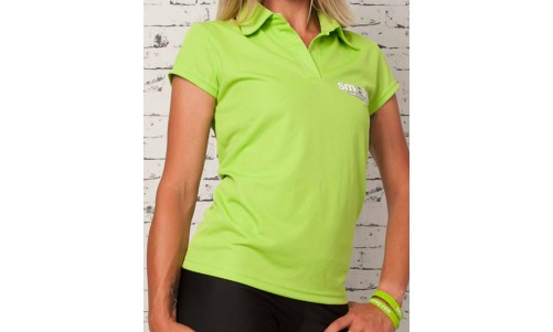 FUNCTIONAL POLO SHIRT - GREEN | women