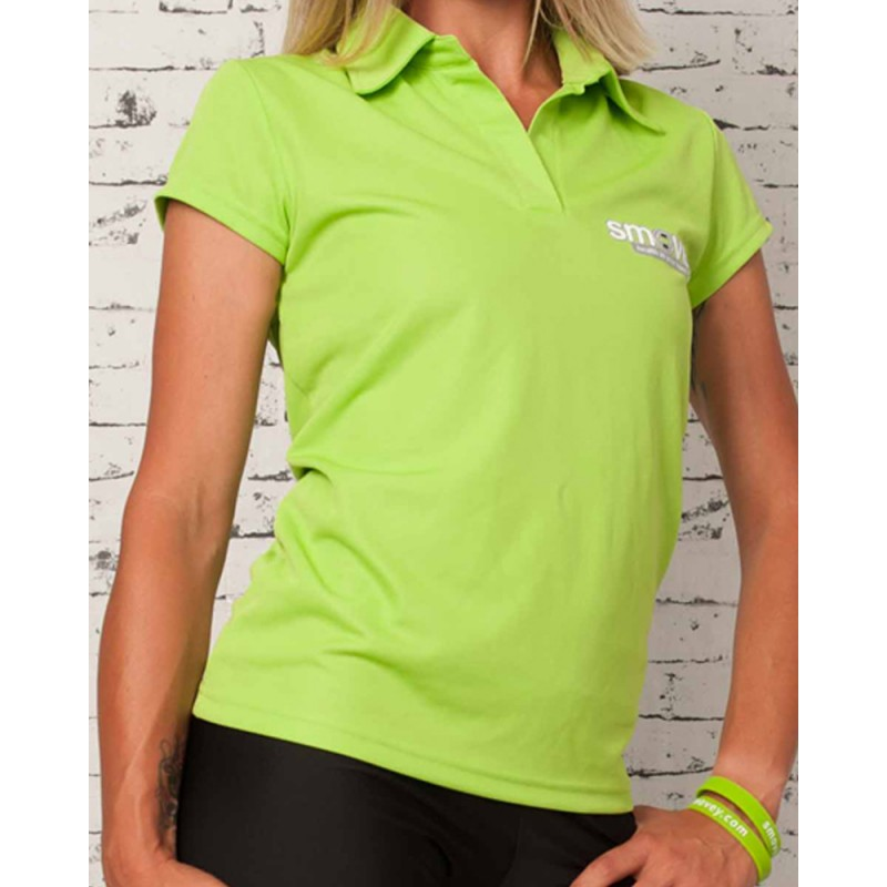 FUNCTIONAL POLO SHIRT - GREEN | women | S